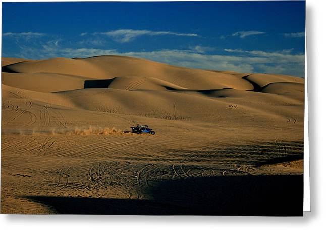 Dune Buggy Greeting Card by Scott Cunningham