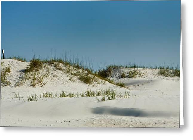 Dune Sign Greeting Card