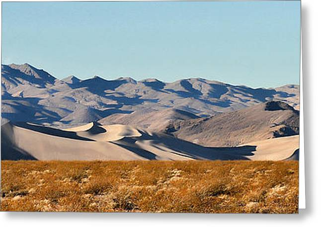 Greeting Card featuring the photograph Dunes - Death Valley by Dana Sohr