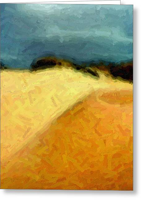 Dunes 1 Greeting Card