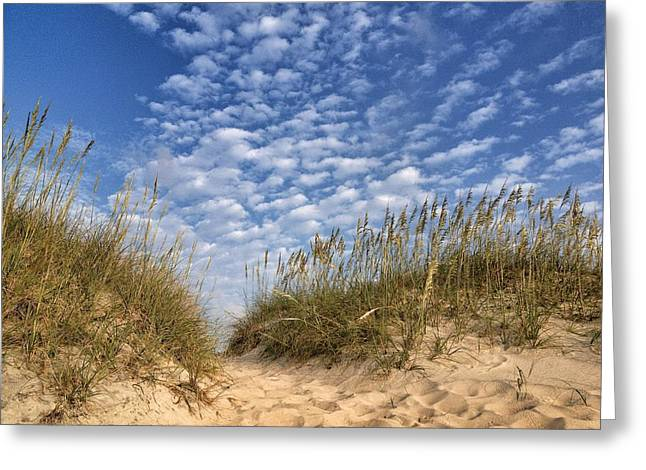 Dunes And Sky Greeting Card