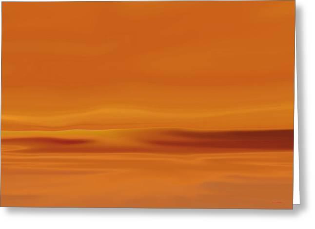 Dunes At Sunset Greeting Card by Tim Stringer