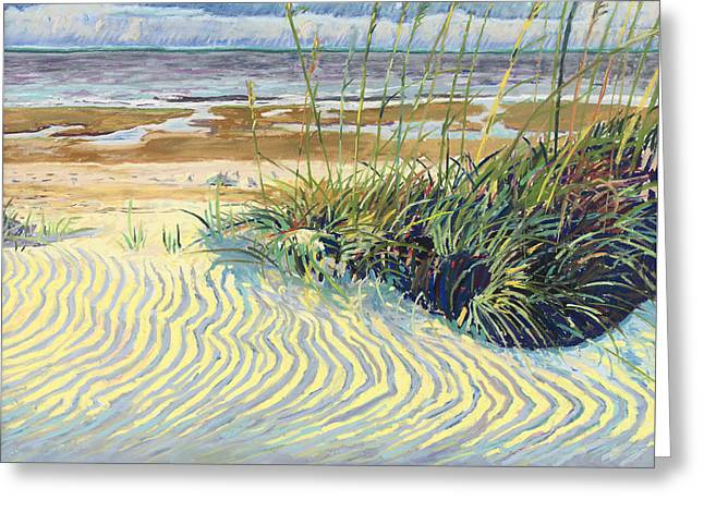 Dunes Greeting Card by David Randall