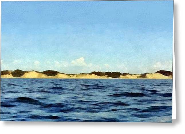Dunes Panorama Greeting Card