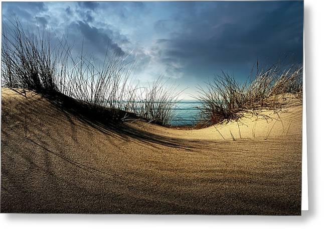 Dunes........... Greeting Card