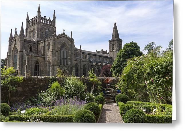 Dunfermline Abbey From The Abbot House Greeting Card