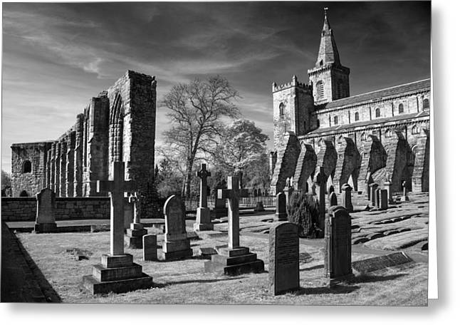 Dunfermline Palace And Abbey Greeting Card