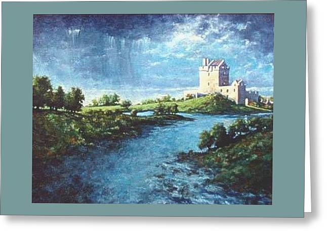 Dungaire Castle Greeting Card