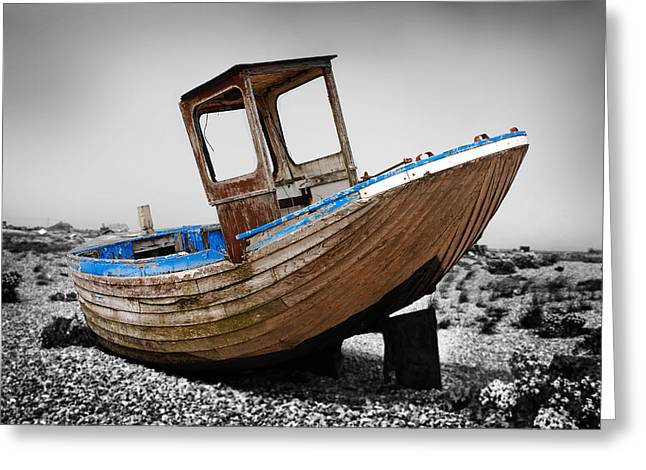 Boat Four Greeting Card by Mark Rogan