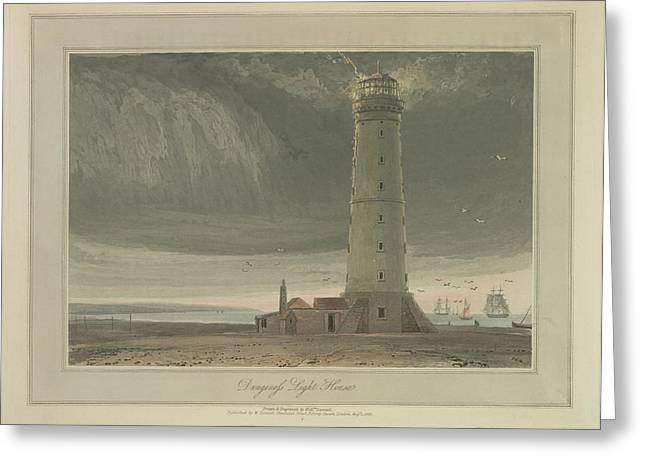 Dungeness Light House Greeting Card by British Library