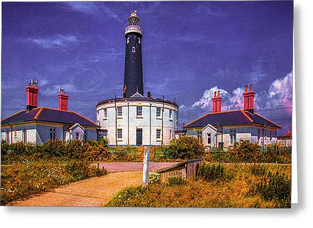Greeting Card featuring the photograph Dungeness Old Lighthouse by Chris Lord