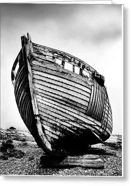 Boat Three Greeting Card by Mark Rogan