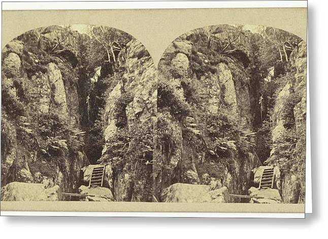 Dungeon Ghyll Force, Westmoreland, Uk, William Russell Greeting Card by Artokoloro