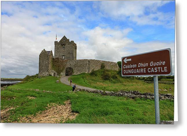 Dunguaire Castle Greeting Card by Tom Norring