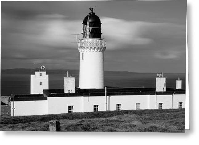 Dunnet Head Lighthouse At Easter Head Greeting Card