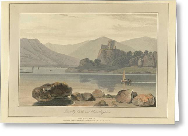Dunolly Castle Near Oban Greeting Card by British Library