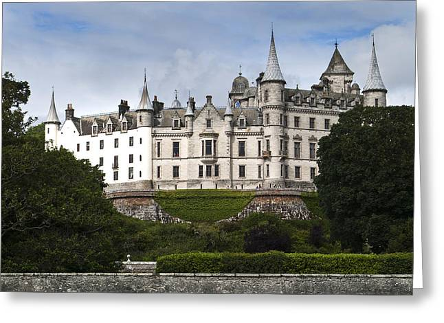Greeting Card featuring the photograph Dunrobin Castle Golspie Scotland by Sally Ross