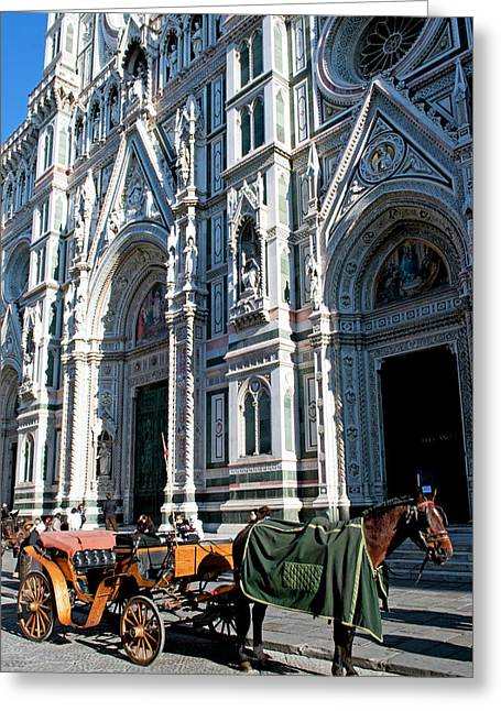 Duomo (cathedral Greeting Card by Nico Tondini