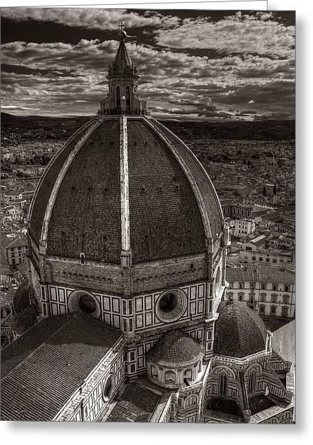 Duomo Dalla Campanile  Greeting Card