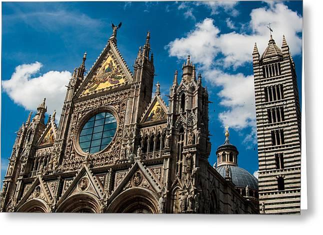 Duomo Di Siena Greeting Card