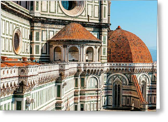 Duomo Of Santa Maria Del Fiore Greeting Card by Nico Tondini