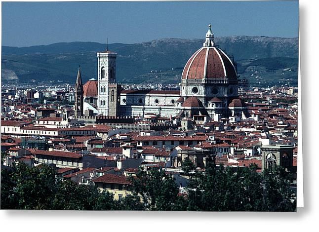 Duomo  Greeting Card by Tom Wurl