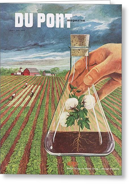 Dupont And Agricultural Research Greeting Card by Hagley Museum And Archive