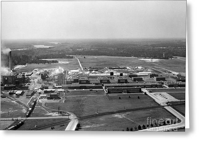 Dupont Seaford Factory Site, 1940s Greeting Card by Hagley Archive