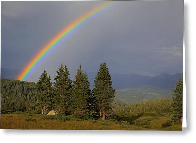 Durango Rainbow Greeting Card