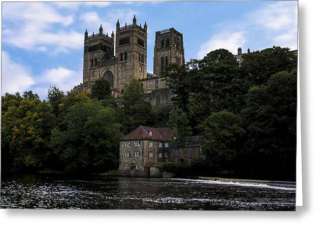 Durham Cathedral And Fulling Mill Greeting Card by Trevor Kersley