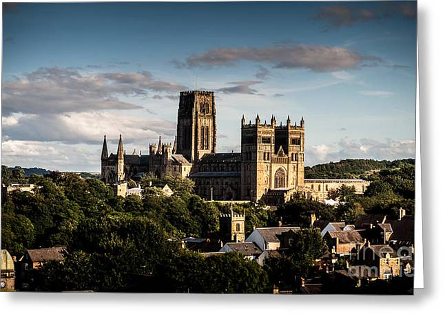 Greeting Card featuring the photograph Durham Cathedral by Matt Malloy