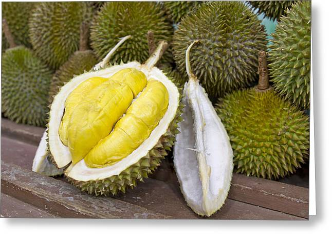 Durian 2 Greeting Card