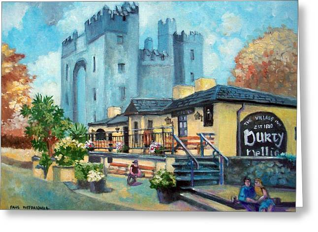 Durty Nellies  Co Clare Ireland Greeting Card by Paul Weerasekera