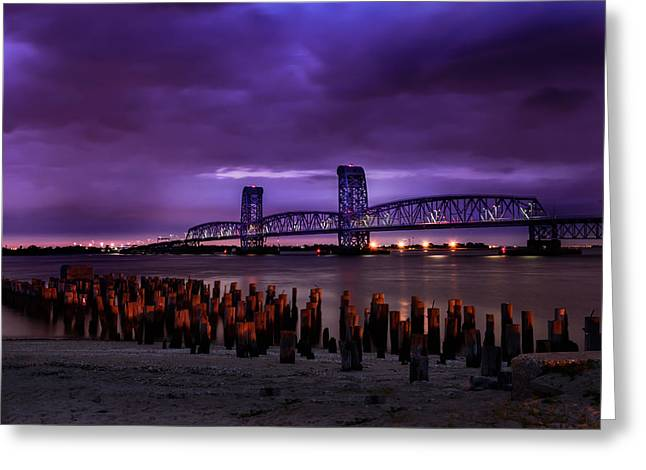 Greeting Card featuring the photograph Dusk by Linda Karlin