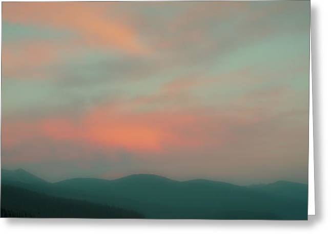 Dusk On Priest Lake Greeting Card by David Patterson