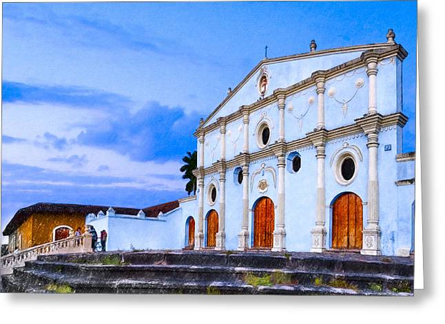 Dusk On The Convento De San Francisco - Granada Greeting Card by Mark Tisdale