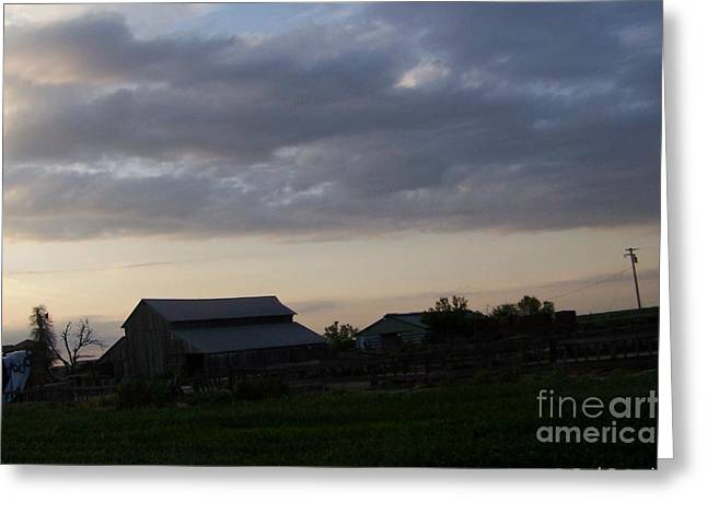 Greeting Card featuring the photograph Dusk Til Dawn by Bobbee Rickard