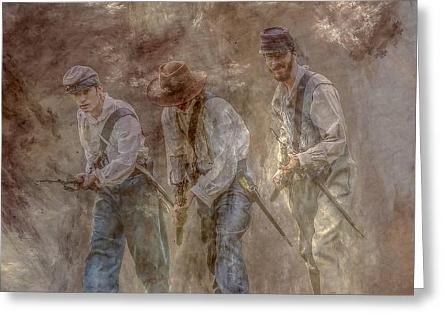 Dust And Gunpowder  Greeting Card by Randy Steele