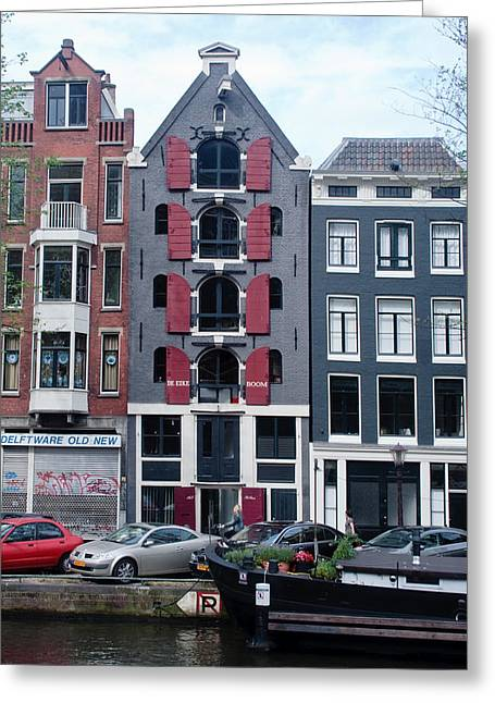 Dutch Canal House Greeting Card