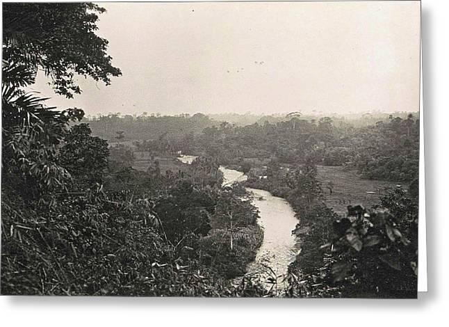 Dutch East Indies, Deli - Tuva Garden Greeting Card by Artokoloro