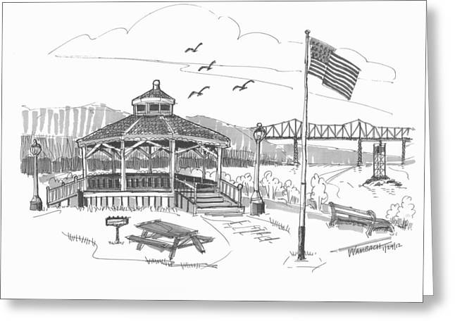 Dutchmen's Landing Catskill Greeting Card