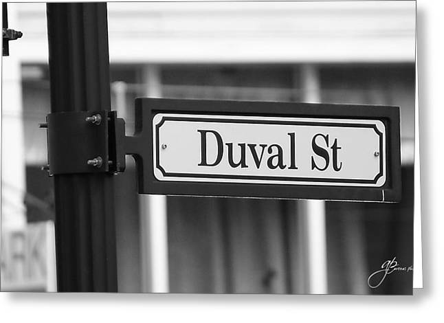 Duval Street Greeting Card