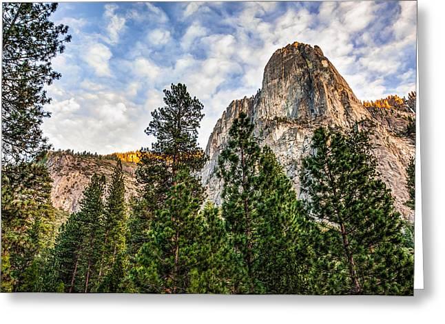 Dynamic Yosemite National Park - California Greeting Card by Gregory Ballos