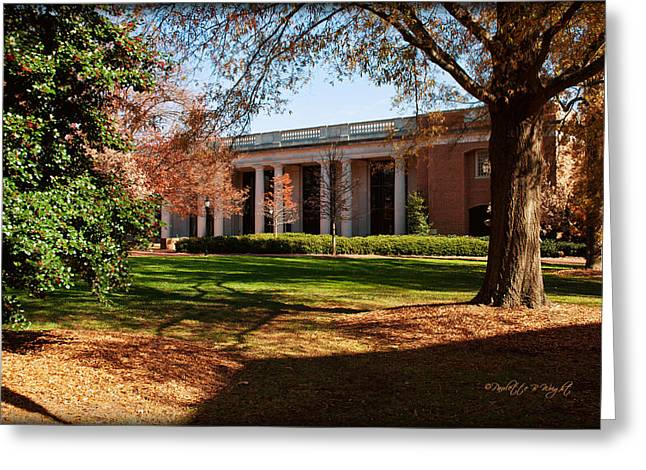E H Little Library - Davidson College Greeting Card by Paulette B Wright