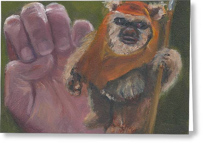 E Is For Ewok Greeting Card
