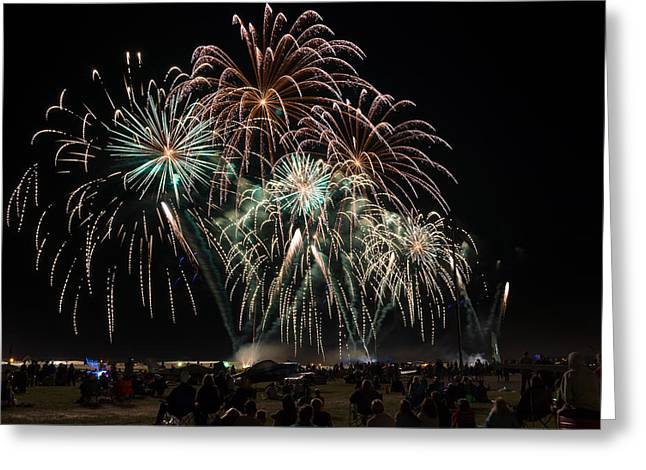Eaa Fireworks - 2013 Greeting Card by Bill Pevlor