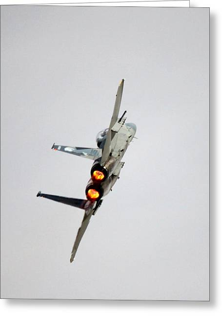 Eagle Afterburner 2 Greeting Card