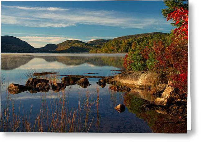 Eagle Lake Greeting Card by Darylann Leonard Photography