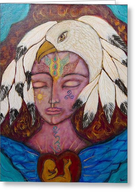 Eagle Shaman Greeting Card