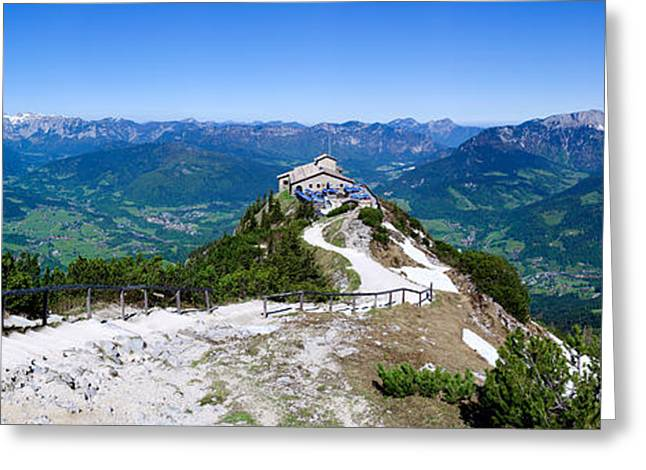 Eagle's Nest Greeting Card by Dave Bowman
